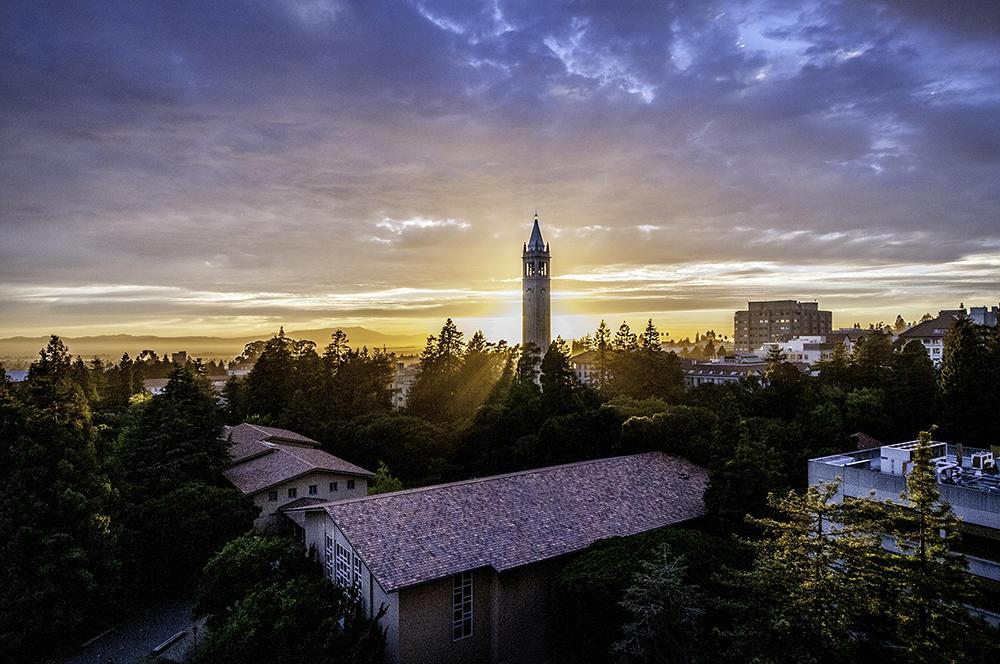 View of Berkeley campus