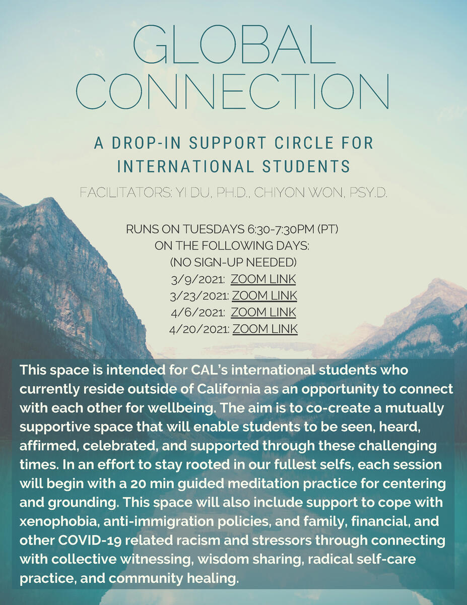 Global Connections flyer