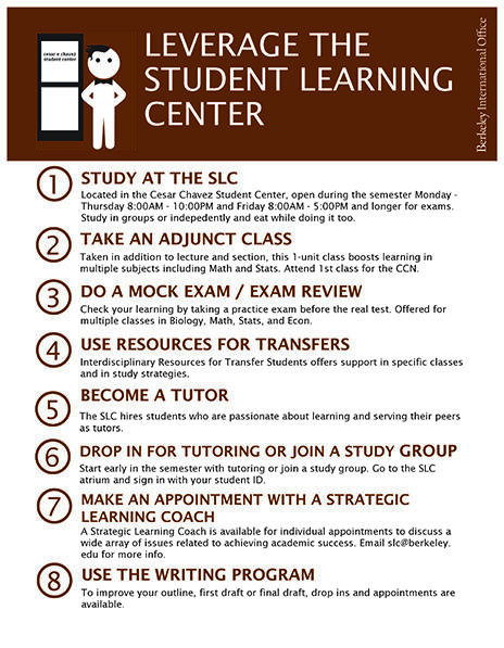 Leverage the Student Learning Center