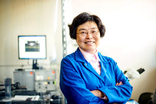 Connie Chang-Hasnain, the John R. Whinnery Distinguished Chair Professor of Electrical Engineering and Computer Sciences.Photo by Noah Berger / 2014
