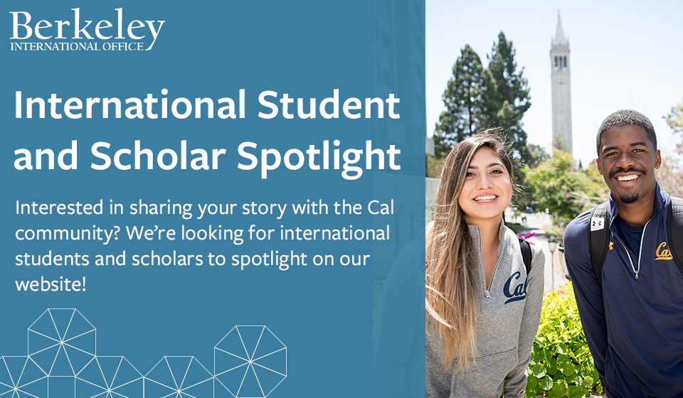 International Student and Scholar Spotlight form