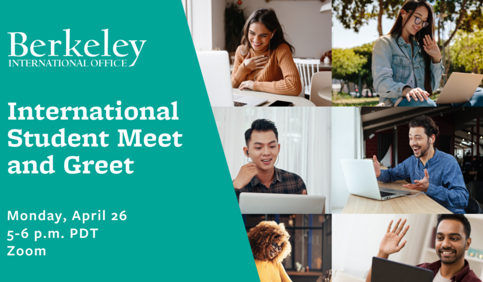 International Student Meet and Greet event graphic