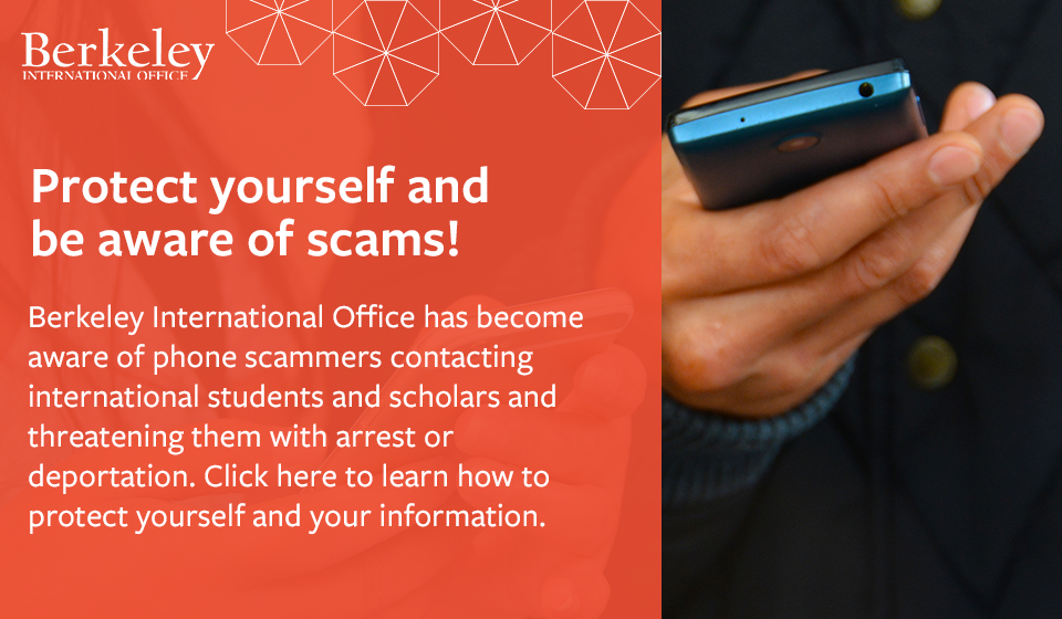 Protect yourself and be aware of scams!