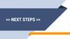 Next Steps presentation slide
