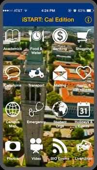 Istart app on phone