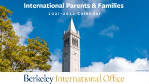 Berkeley Internatonal Office Parent and Family Calendar 2021-2022