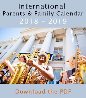 International Parents and Family Calendar 2017-2018 cover