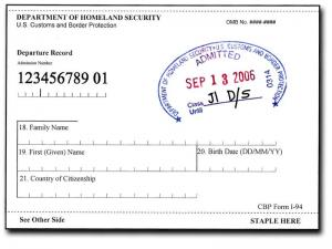 Understanding the I-94 Arrival/Departure Record | International Office